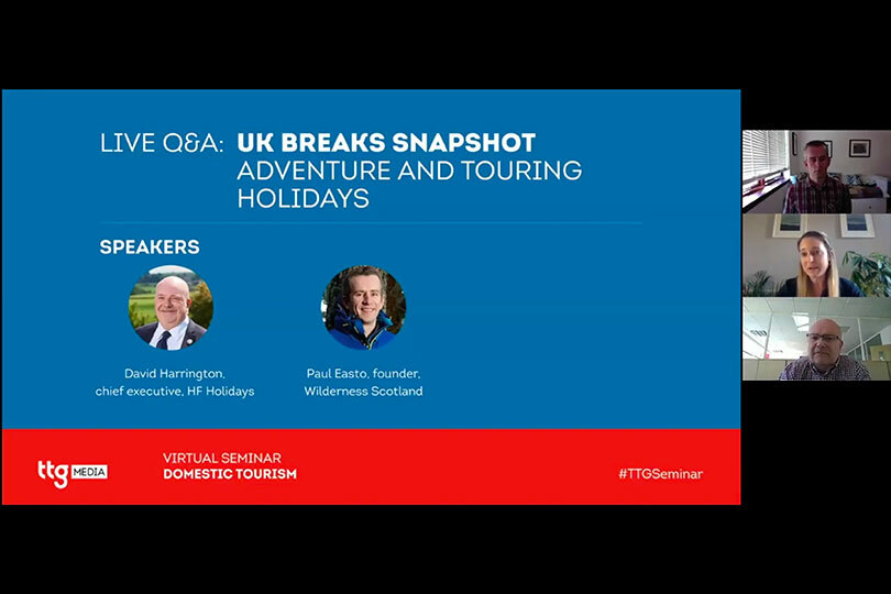UK breaks snapshot - Adventure and touring holidays