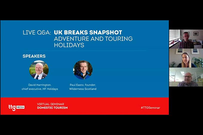 UK breaks snapshot - Adventure and touring holidays