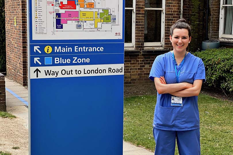From Tui cabin crew to frontline nursing assistant on a Covid-19 ward
