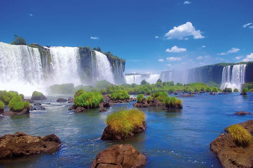 Iguassu Falls, Argentina and Brazil