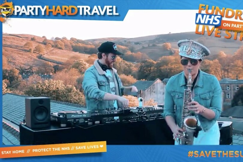 Party Hard Travel supports NHS with virtual DJ sets