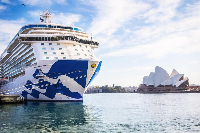 Princess suspends more Australian and Canadian sailings