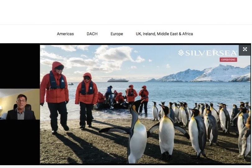 Silversea supports trade with Virtual Visits videos