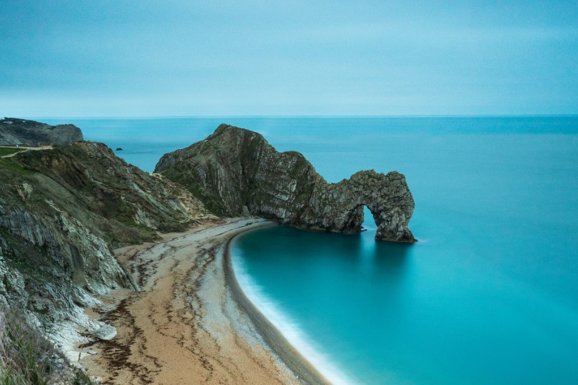 Dorset's Durdle Door has been popular during lockdown