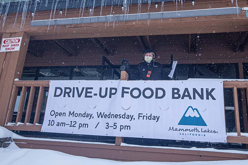 How Mammoth Lakes' food bank is saving the town's tourism industry