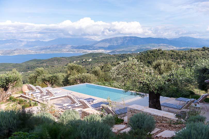 CV Villas Lemoni House in Corfu