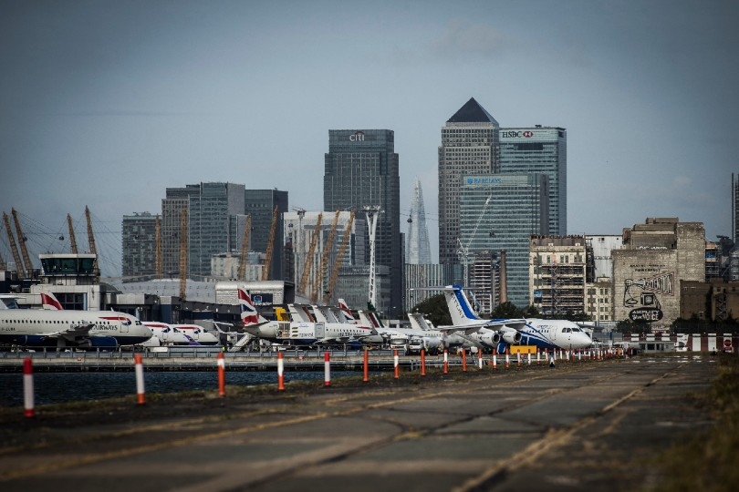 London City airport plans end of June restart
