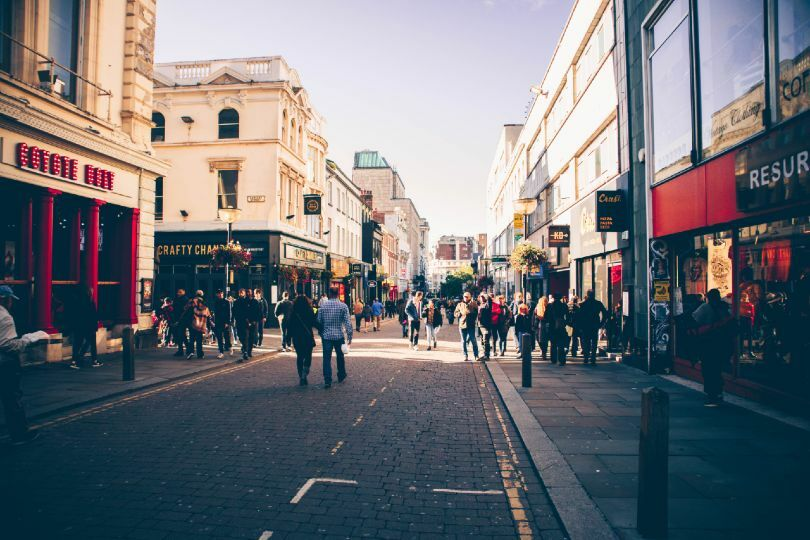 Normal high street shopping will return from 2 December (Credit: Prakasam Mathaiyan / Unsplash)