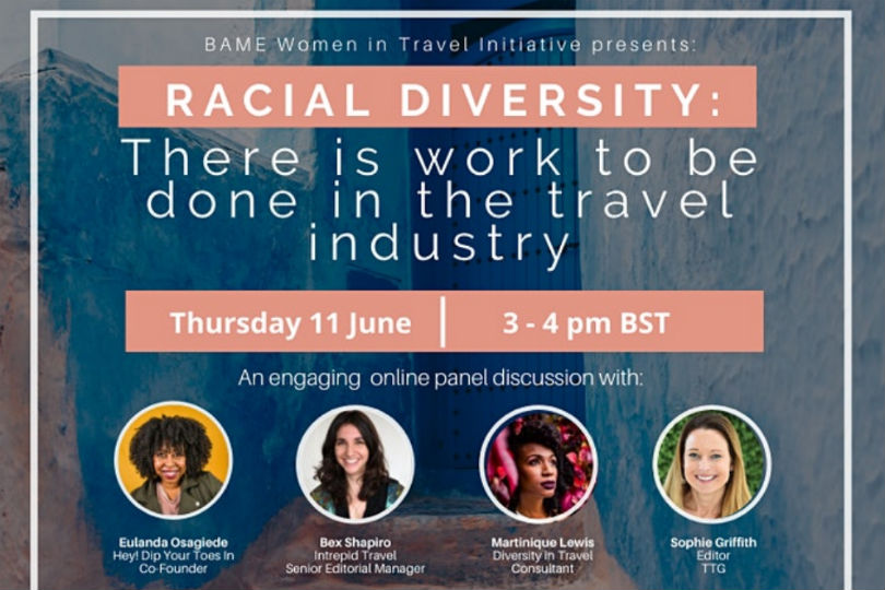 Addressing racial diversity in the travel industry