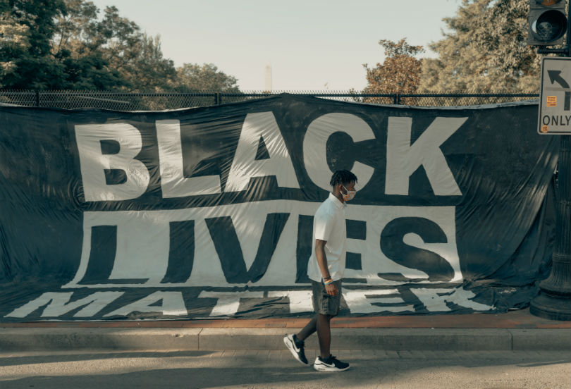 Black Lives Matter - pic by Clay Banks Unsplash