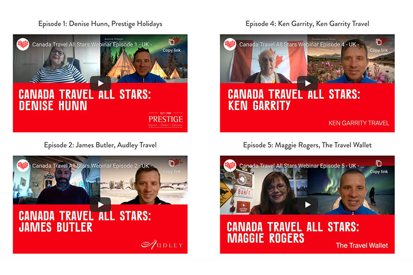 Canada All Stars webinar series launches