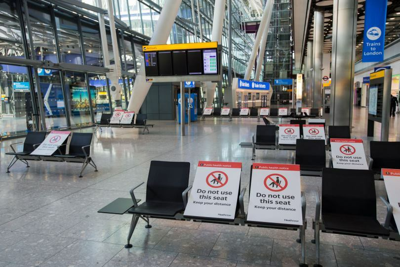 Heathrow awaits the return of passengers post-lockdown