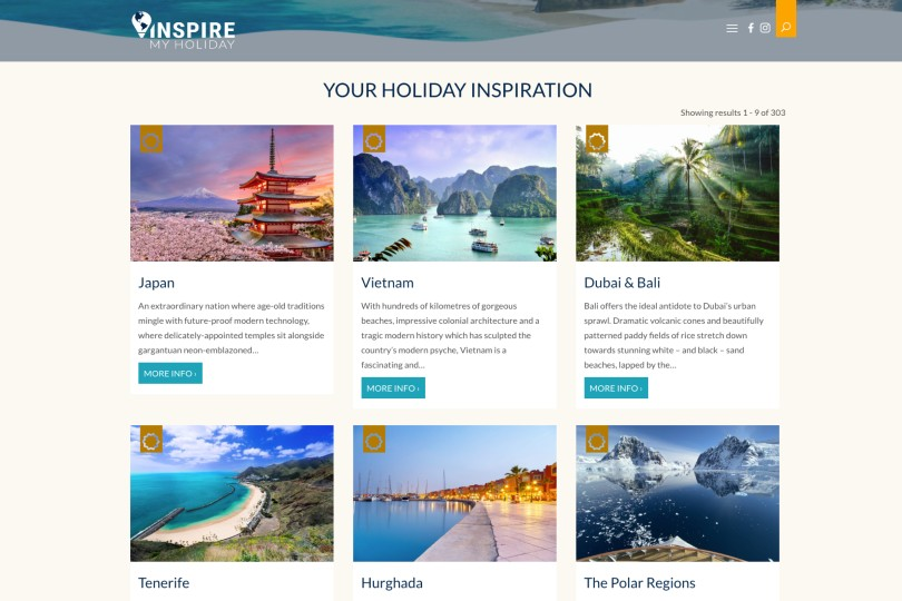 Inspire My Holiday will seek new trade partners