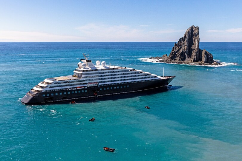 Scenic has seen demand rise for expedition sailings onboard Scenic Eclipse (image credit: Roger Pimenta)
