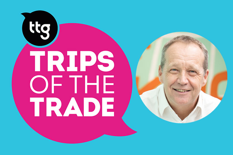Der Touristik UK chief executive Derek Jones joined the first TTG Trips of the Trade podcast