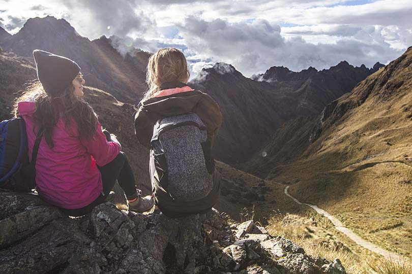 G Adventures offers an Inca Trail trek