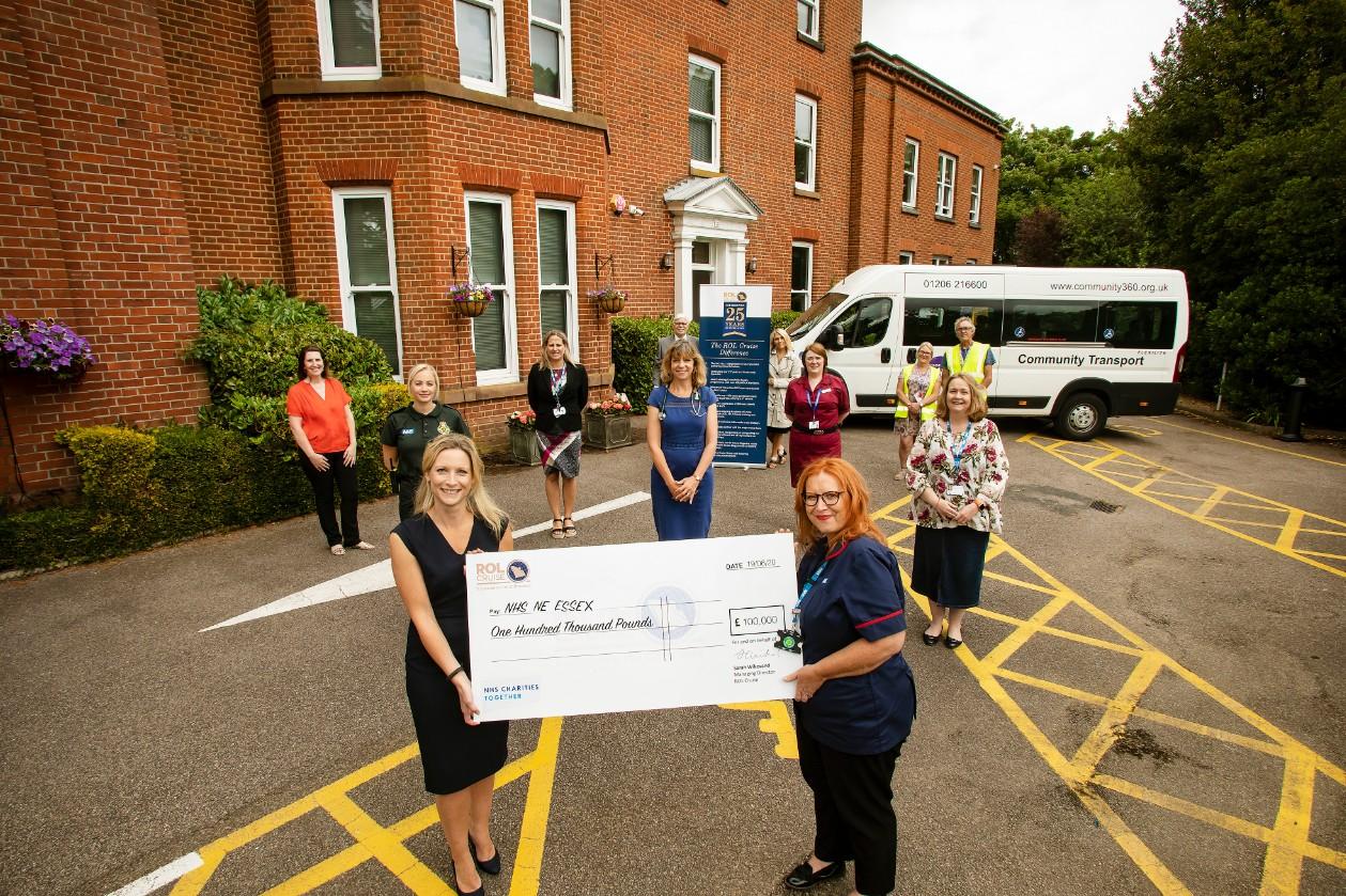 ROL Cruise raises £100k to help NHS