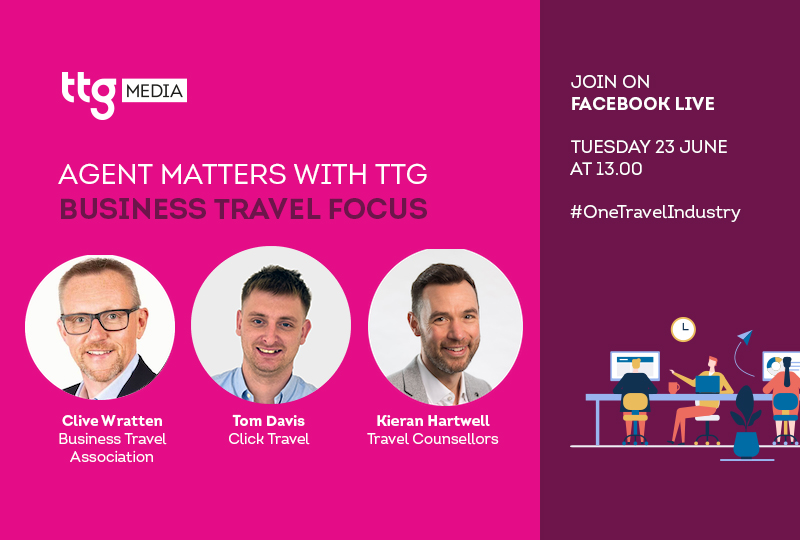 Join Agent Matters on Tuesday for an update from top corporate travel agencies