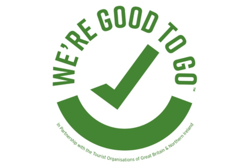 UK tourism businesses can display the 'We're Good to Go' mark to reassure holidaymakers