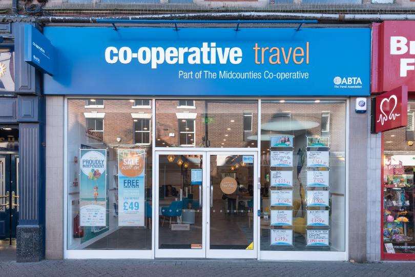 Co-operative Travel now has a retail network of more than 70 agencies