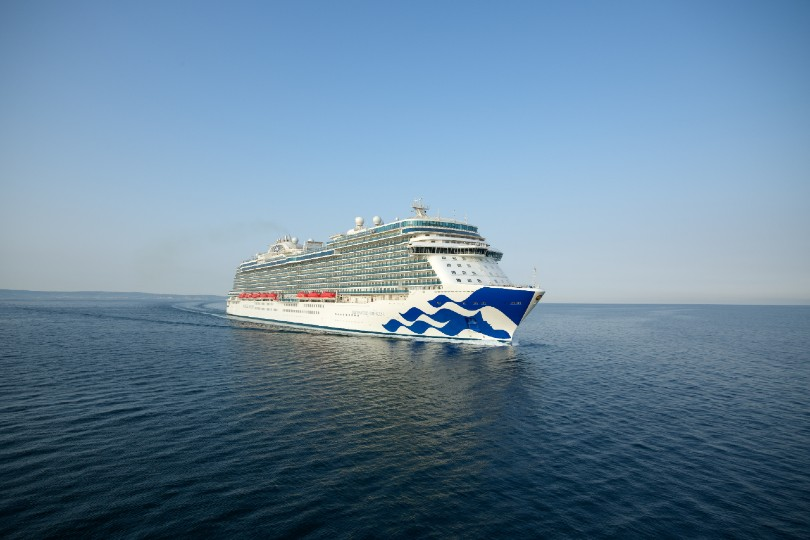 Enchanted Princess completes sea trials
