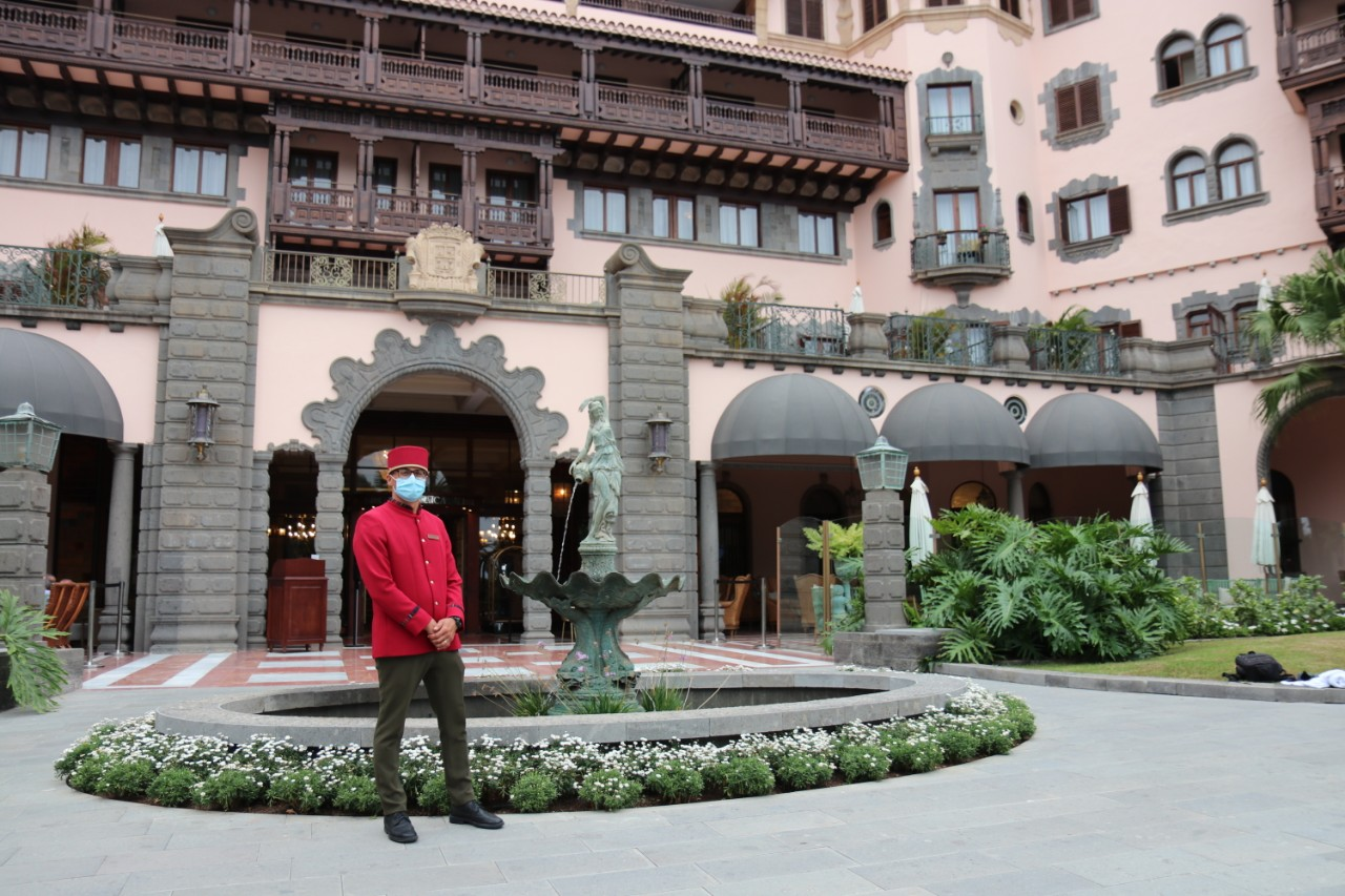 Hotel Santa Catalina has a full protocol in place to ward off Covid-19