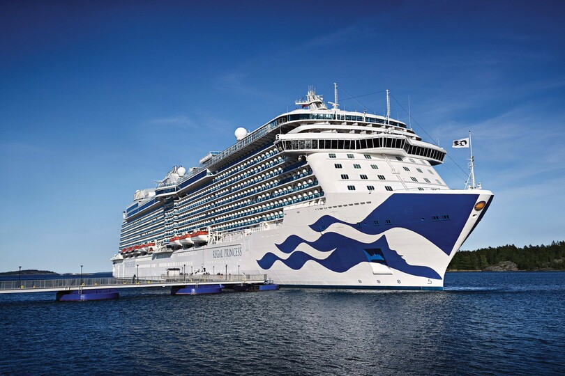 Regal Princess to sail ex-Southampton next summer