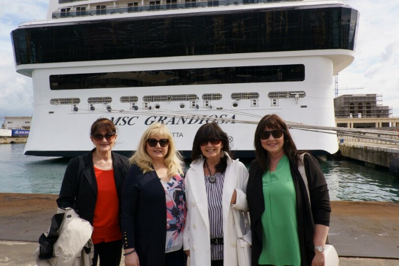 Singing sisters will sail onboard MSC Grandiosa during the eight-part series