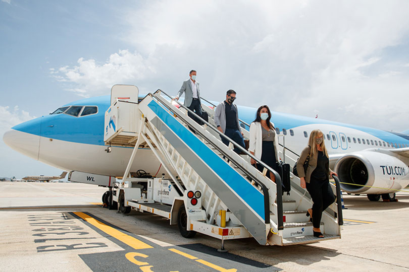 Tui's first flights to the Balearics all 'almost full'