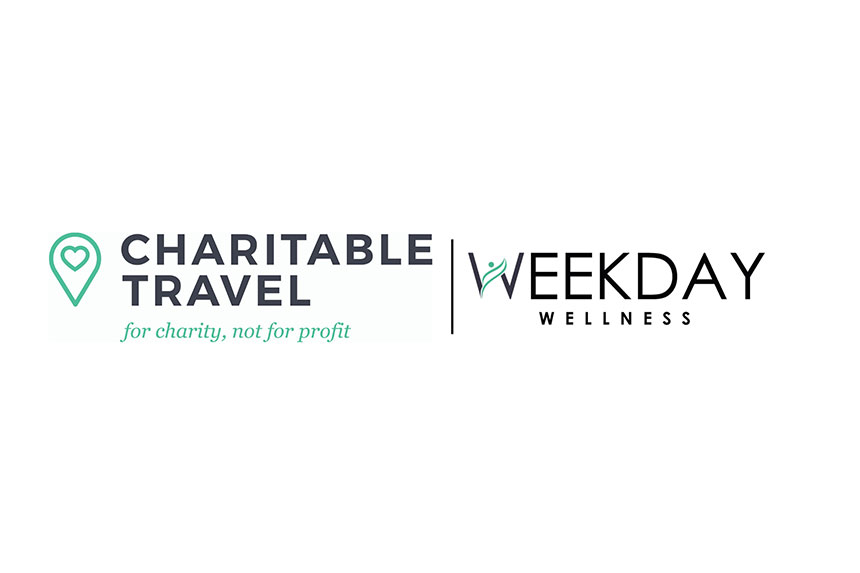 Sign up to Charitable Travel's daily workout and wellness sessions