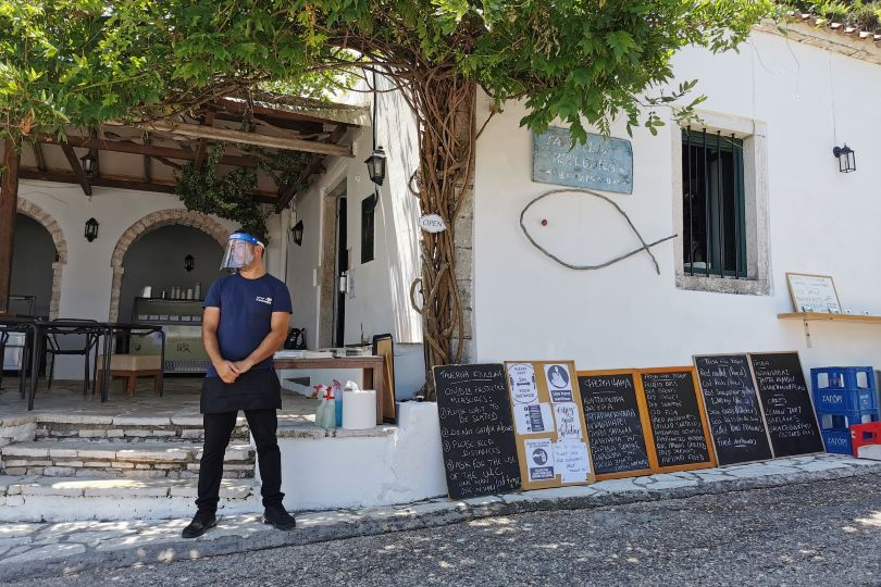 'Travelling to Greece, it felt like business as usual'
