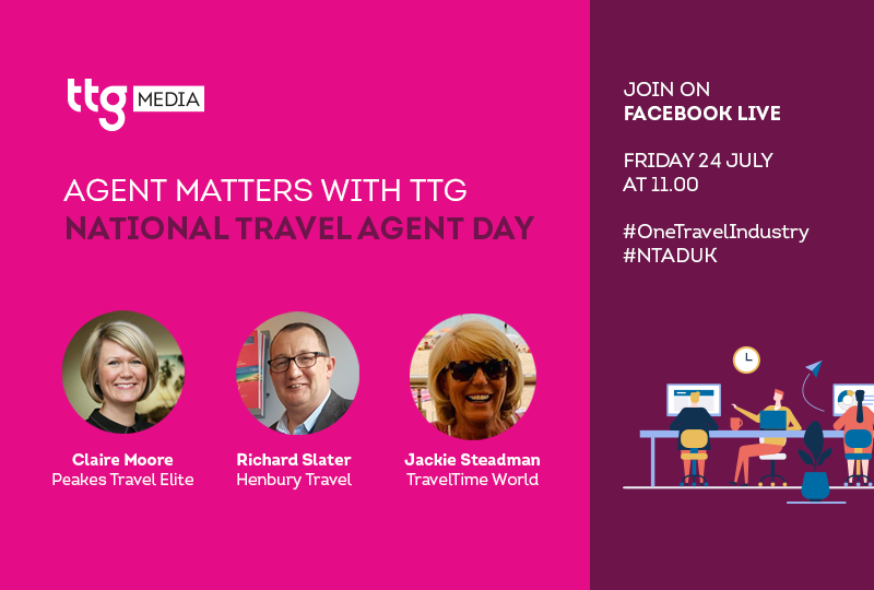 TTG will get behind the National Travel Agent Day push on Friday (24 July)
