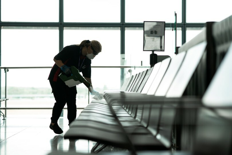 Heathrow is still bereft of passengers despite stringent hygiene