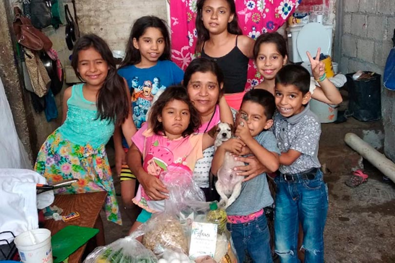 JOURNEY MEXICO FEEDS VULNERABLE FAMILIES
