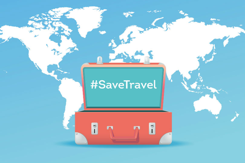Join the #SaveTravel 'Twitterstorm' – today 10am
