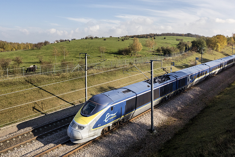 Byway's itineraries include train travel to France