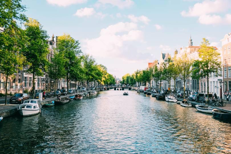 Amsterdam (Credit: Adrien Olichon / Unsplash)
