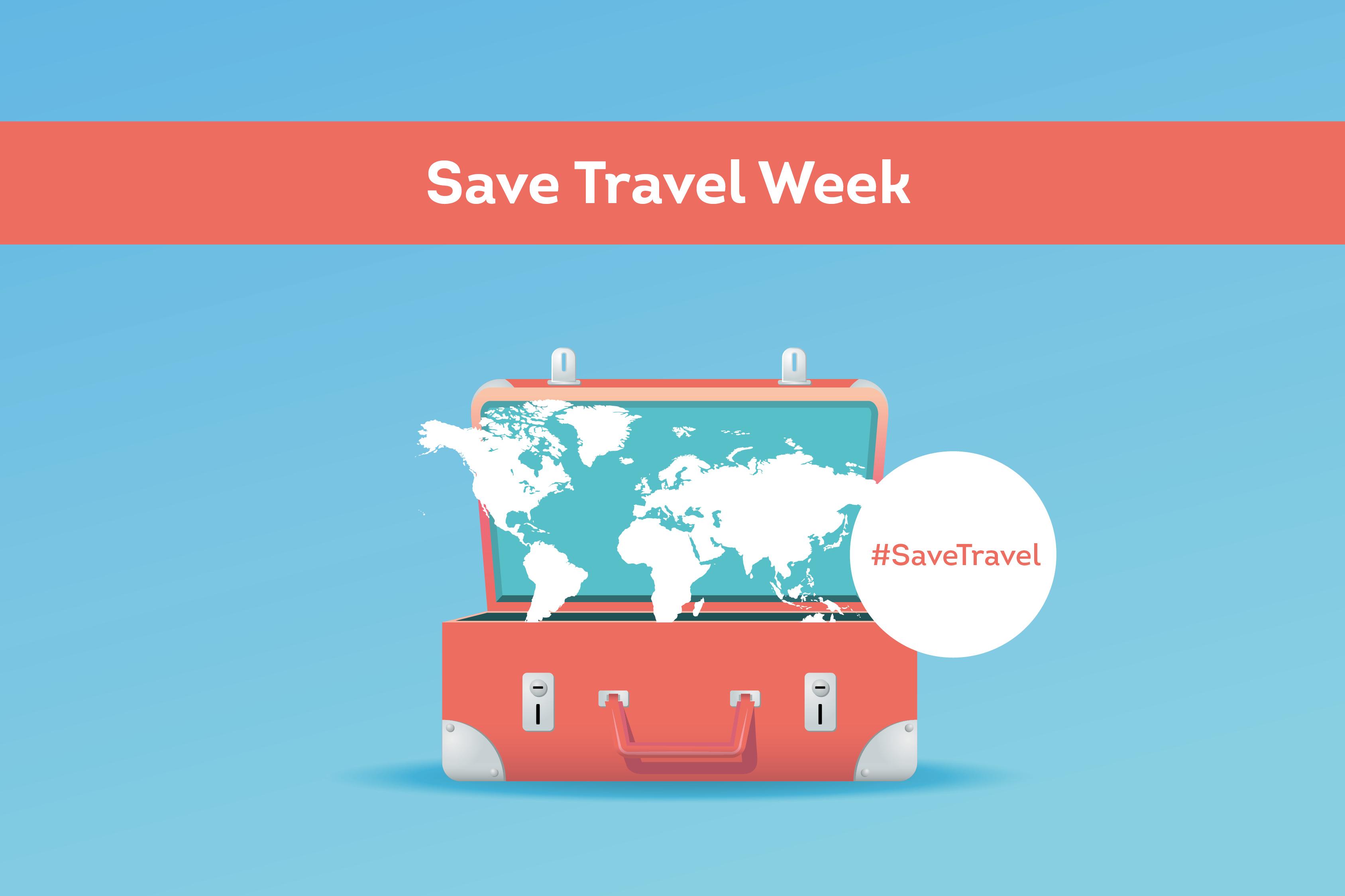 Take part in Save Travel Week