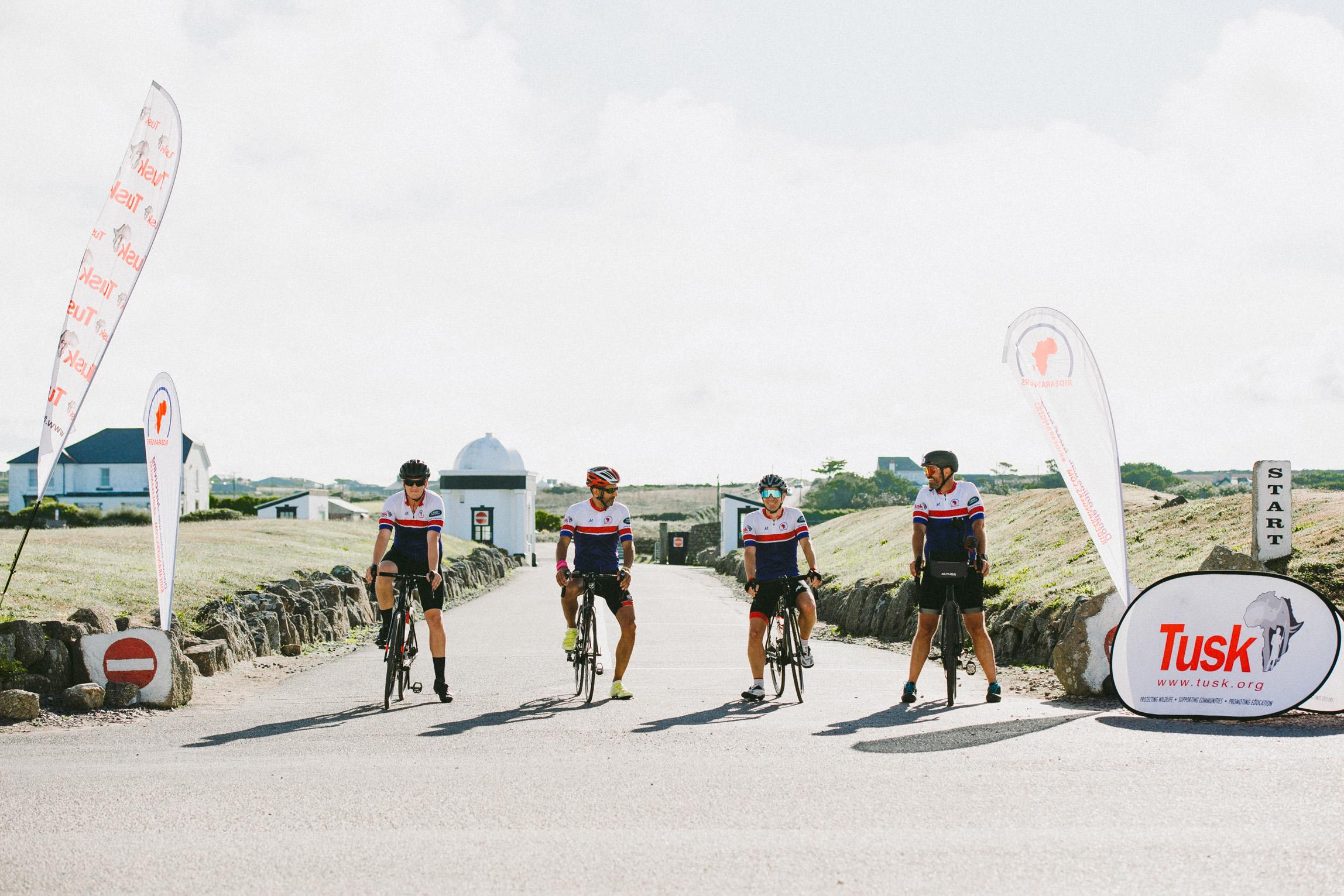 The Ride4Rangers team set off