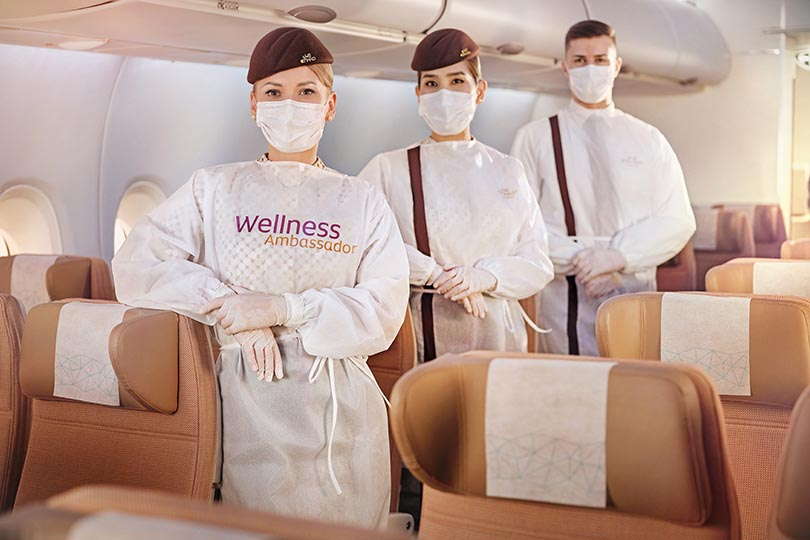 Etihad Airways launches wellness programme for traveller safety, hygiene and confidence