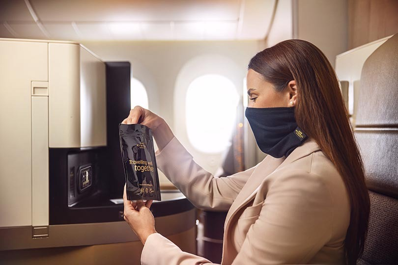Poll shows public acceptance of mandatory face masks on flights