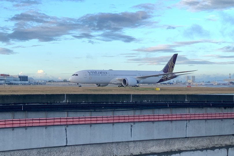 Vistara's Dreamliner made its first flight from Delhi to Heathrow on Friday
