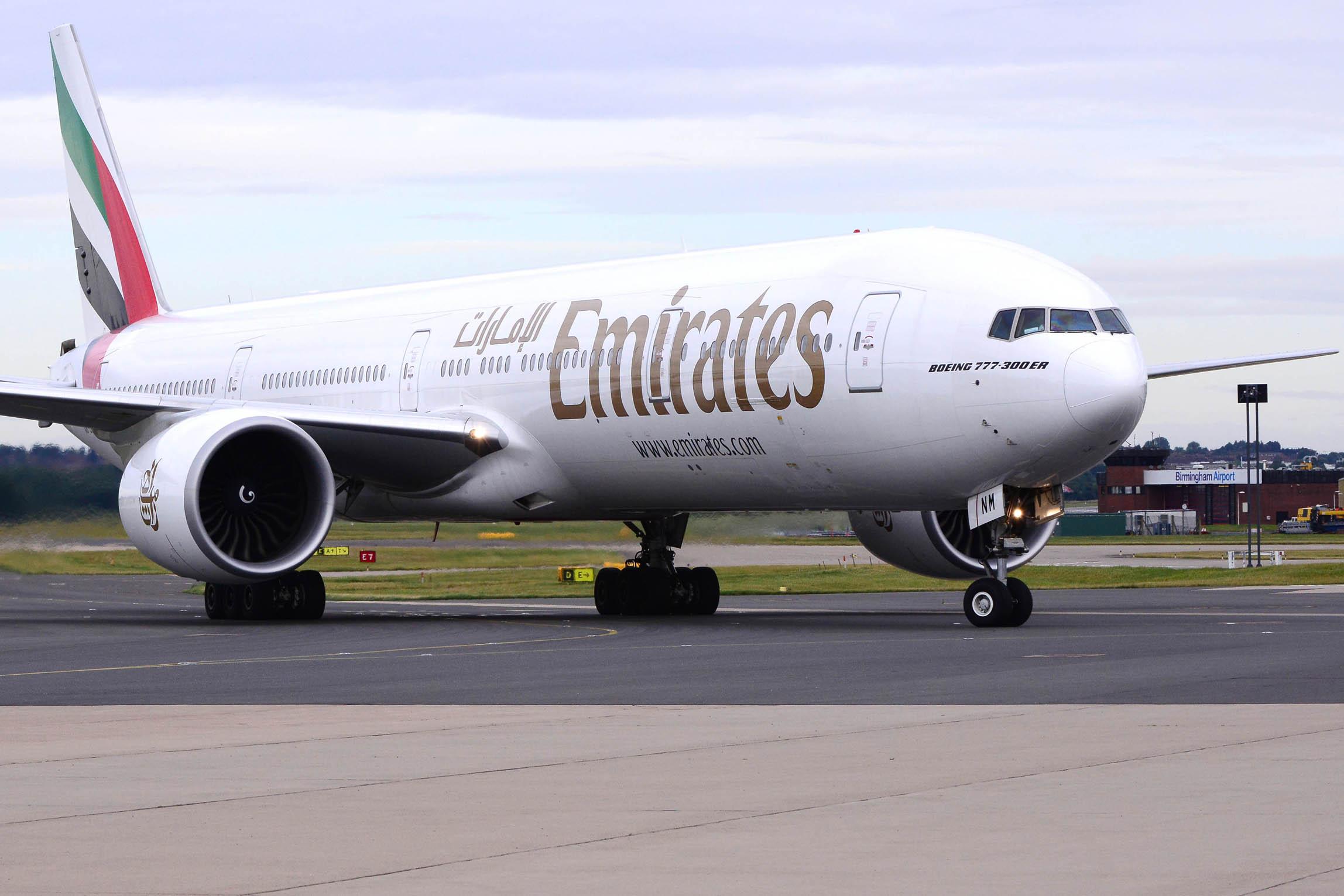 Emirates has returned to its Midlands gateway