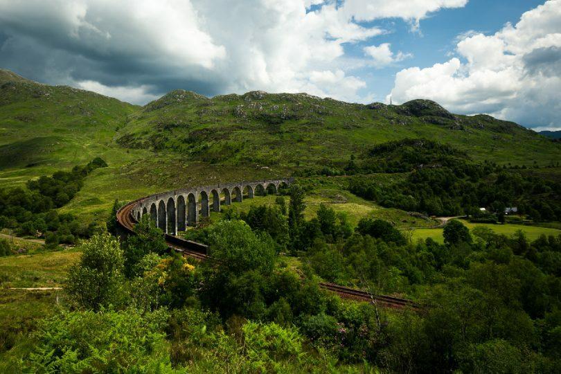 The trip took in Glenfinnan in the Scottish highlands (Credit: Thomas Tucker / Unsplash)