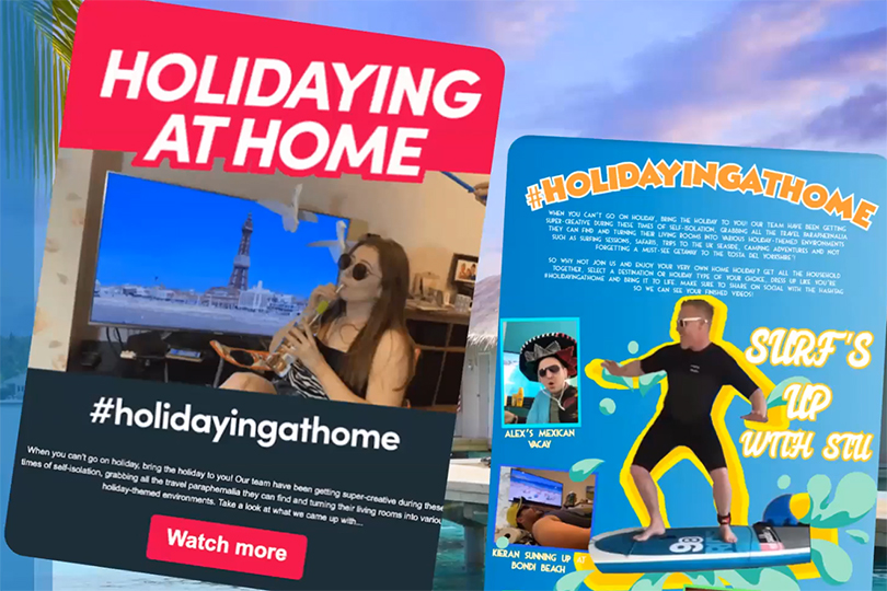 icelolly's #holidayingathome campaign boosted click-through rates