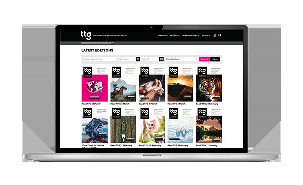 TTG Print Archive