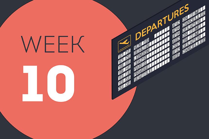 Week ending Friday 12 June 2020