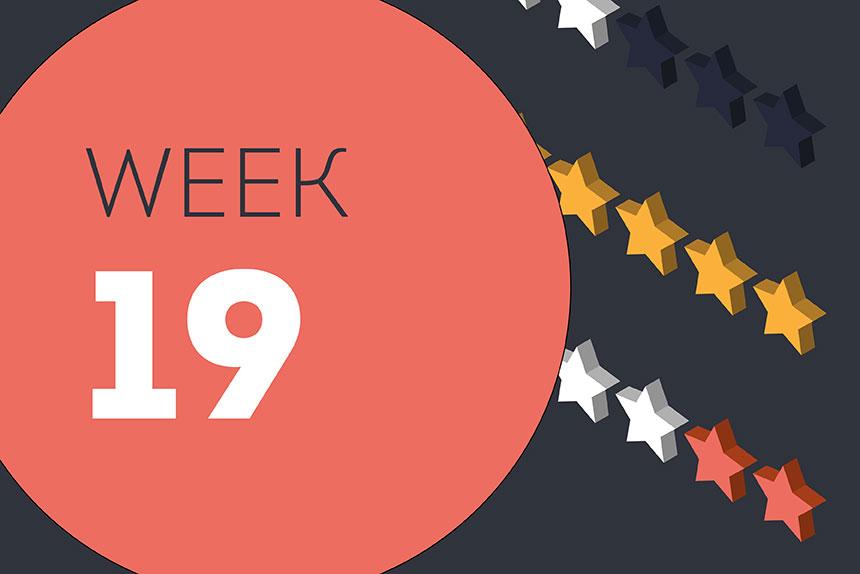 Week ending Friday 14 August 2020