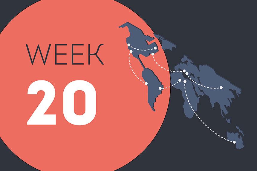 Week ending Friday 21 August 2020
