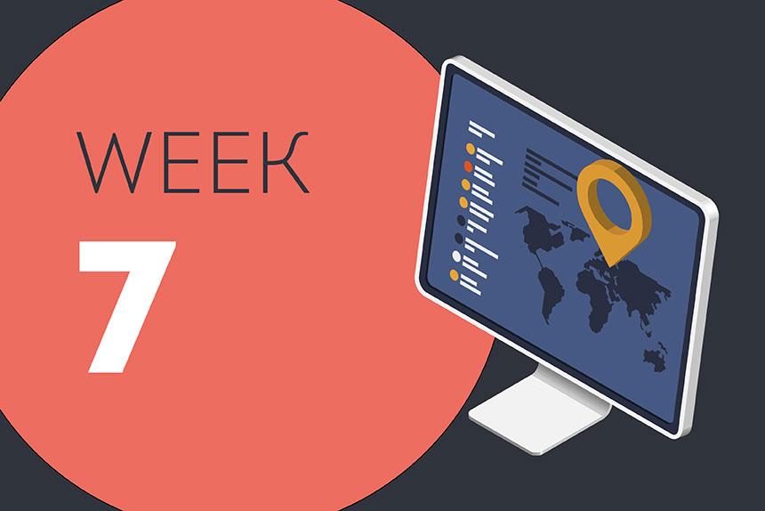 Week ending Friday 22 May 2020